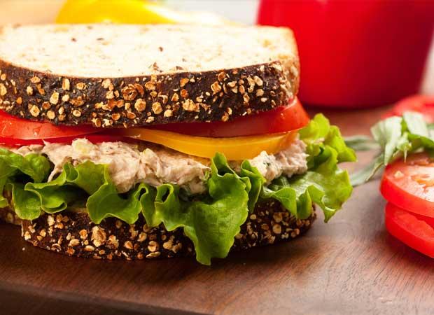 Chicken salad sandwhich