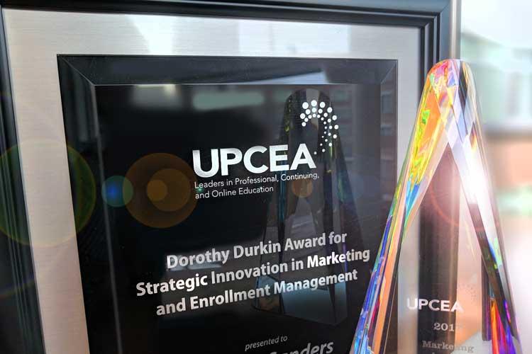 UPCEA Dorothy Dunkin Award 2019