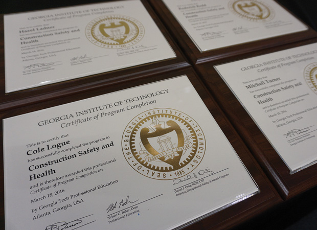 Certificates Georgia Tech Professional Education