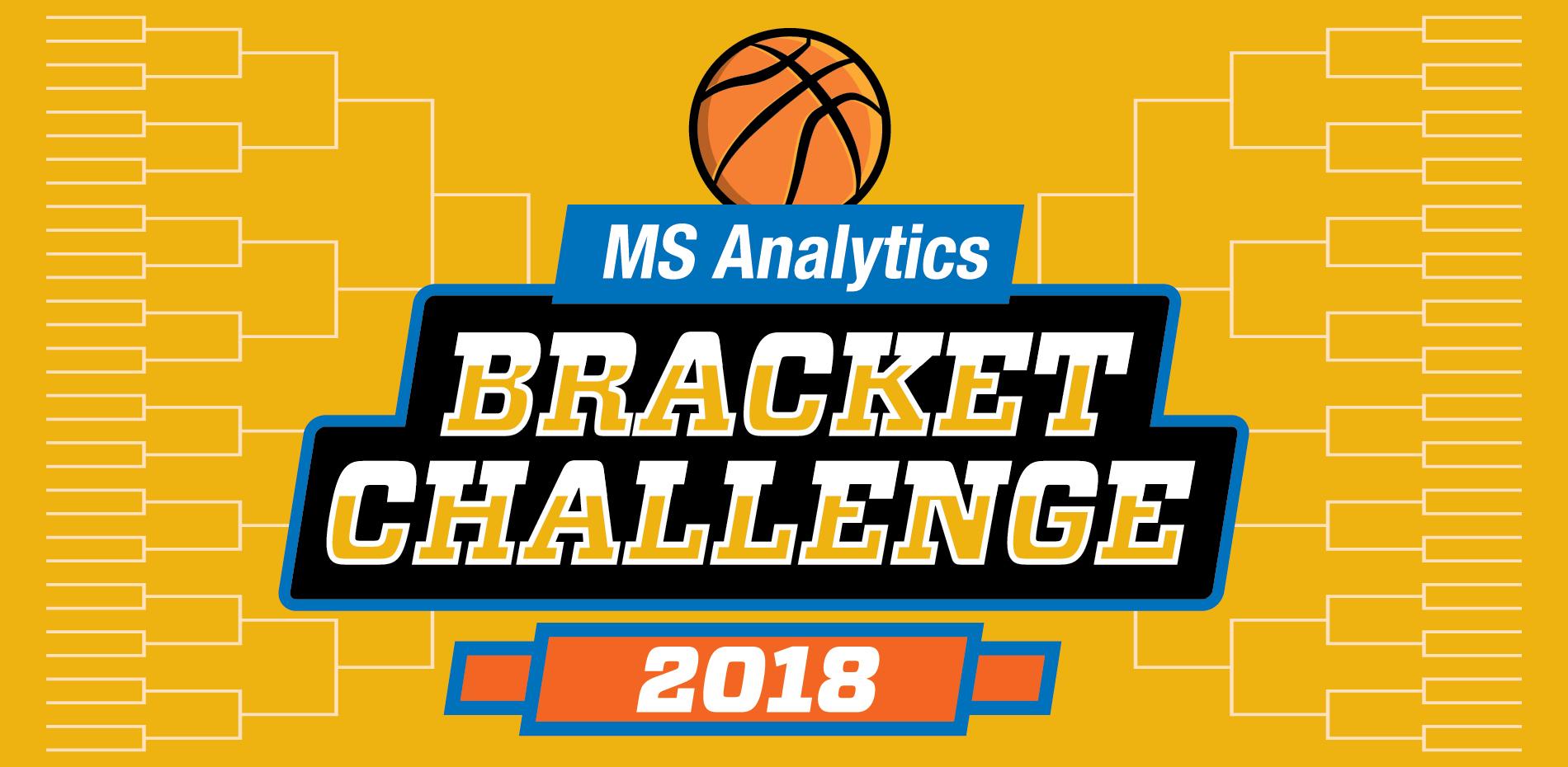Master's in Analytics bracket challenge logo