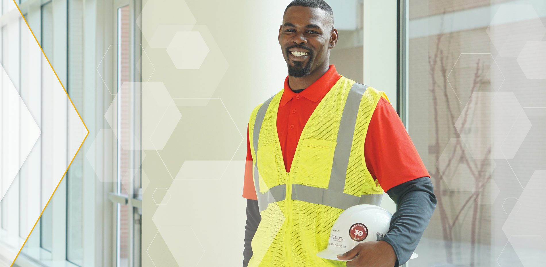 Ryan Mack, site safety manager