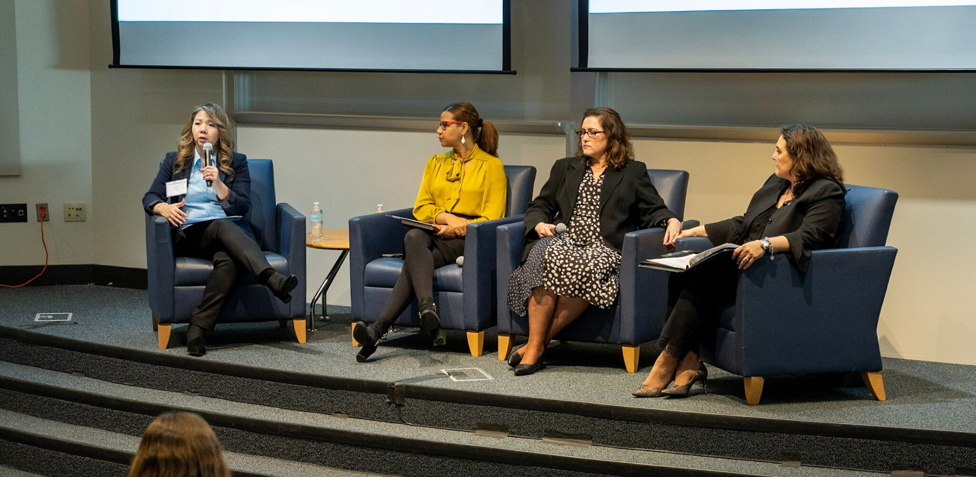 Panel discussion around the long-term impact of higher education initiatives to broaden STEM participation