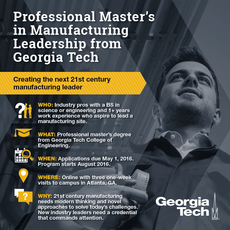 Creating the Next 21st Century Manufacturing Leader