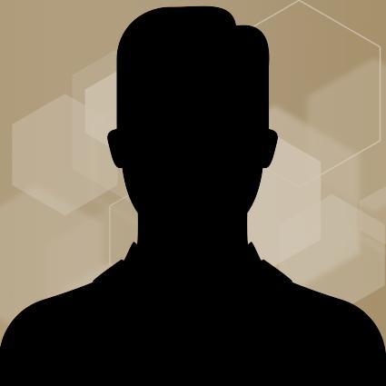 male silhouette headshot