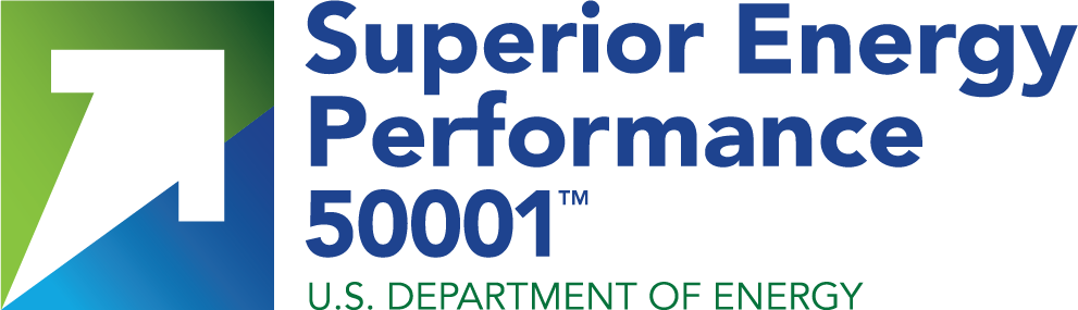 Superior Energy Performane 50001 U.S. Department of Energy logo
