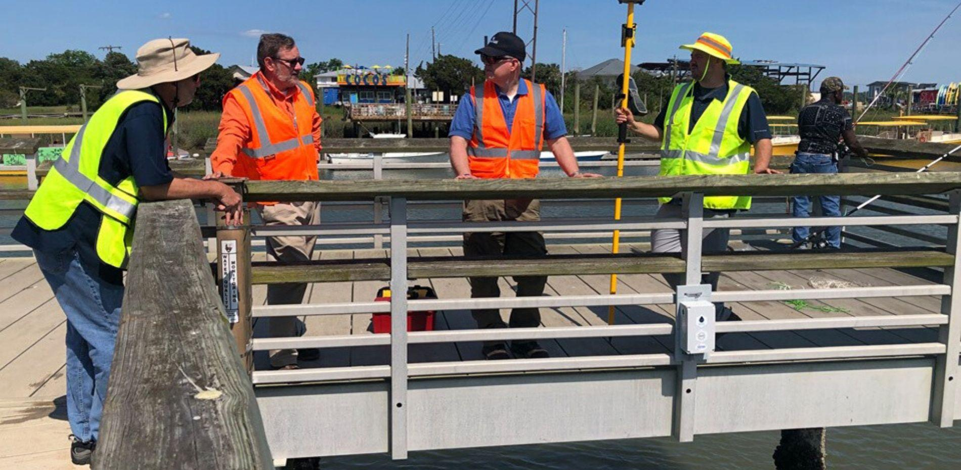 Smart Sea Sensors program installation on the Savannah River.