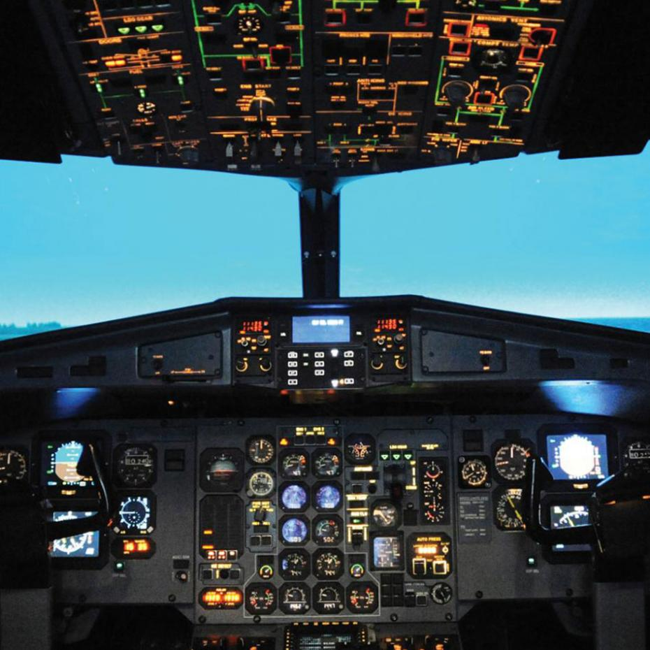 ASLIM Presents to Georgia Tech on Simulation in Flight Training   image