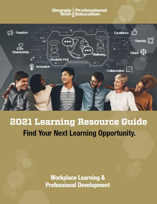 2021 Learning Resource Guide from Workplace Learning & Professional Development