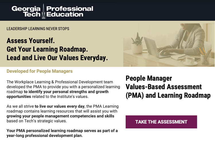People Manager Assessment visual