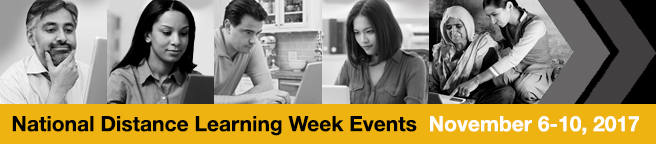National Distance Learning Week Events