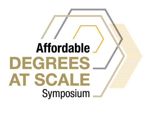 Affordable Degrees-at-Scale Symposium Logo
